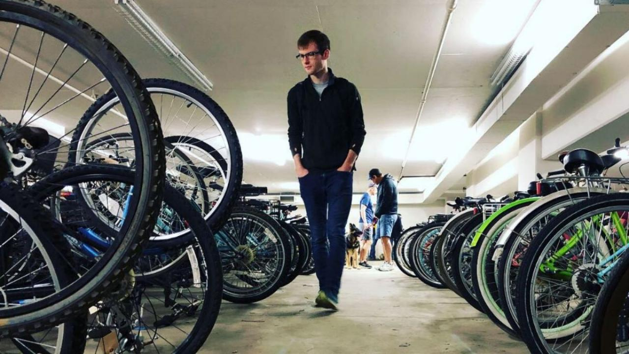 Students Get Ready For Summer Bicycle Storage Transportation Services